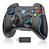 PC Gamepad, EasySMX Wireless Controller, gaming Controller für PS3/PC(Windows...