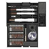 AIRAJ Feinmechanik Schraubendreher Set, 41 in 1 Magnetische Präzisions Werkzeug Set, S2 hochfeste...