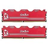 LEVEN SINBA DDR4 16GB (2×8GB) 3600MHz XMP 2.0 PC4-28800 CL18 288-Pin U-DIMM...