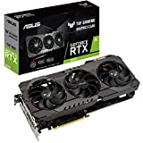 ASUS TUF GeForce RTX 3070 8GB OC Edition Gaming Grafikkarte (PCIe 4.0, GDDR6 Speicher, 2x HDMI 2.1,...