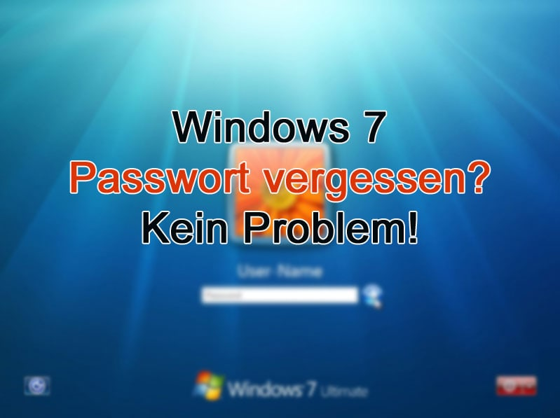 Windows 7 Passwort