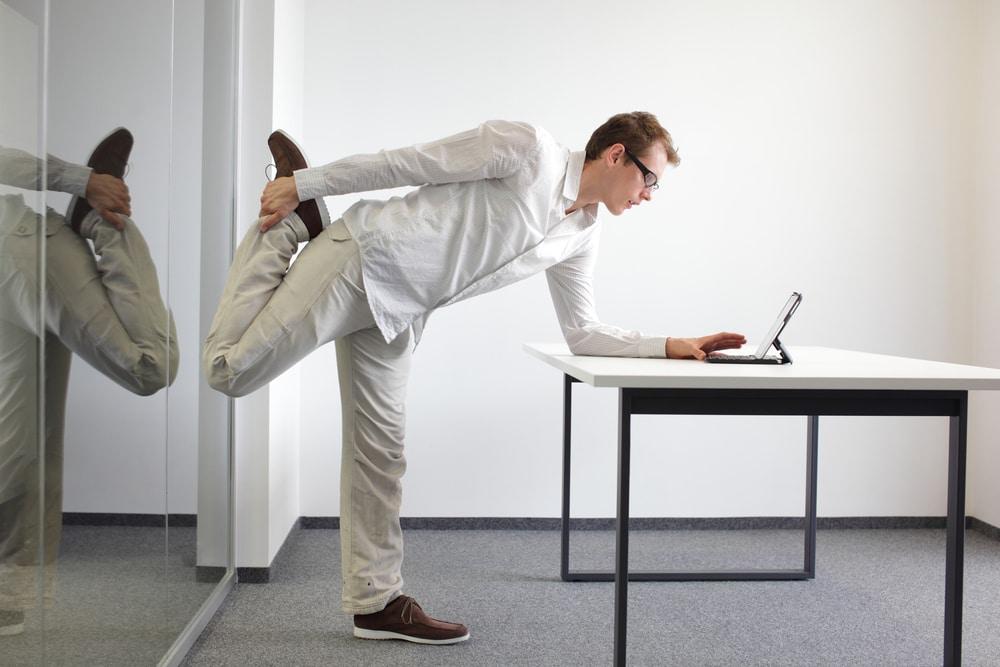 Büro-Fitness