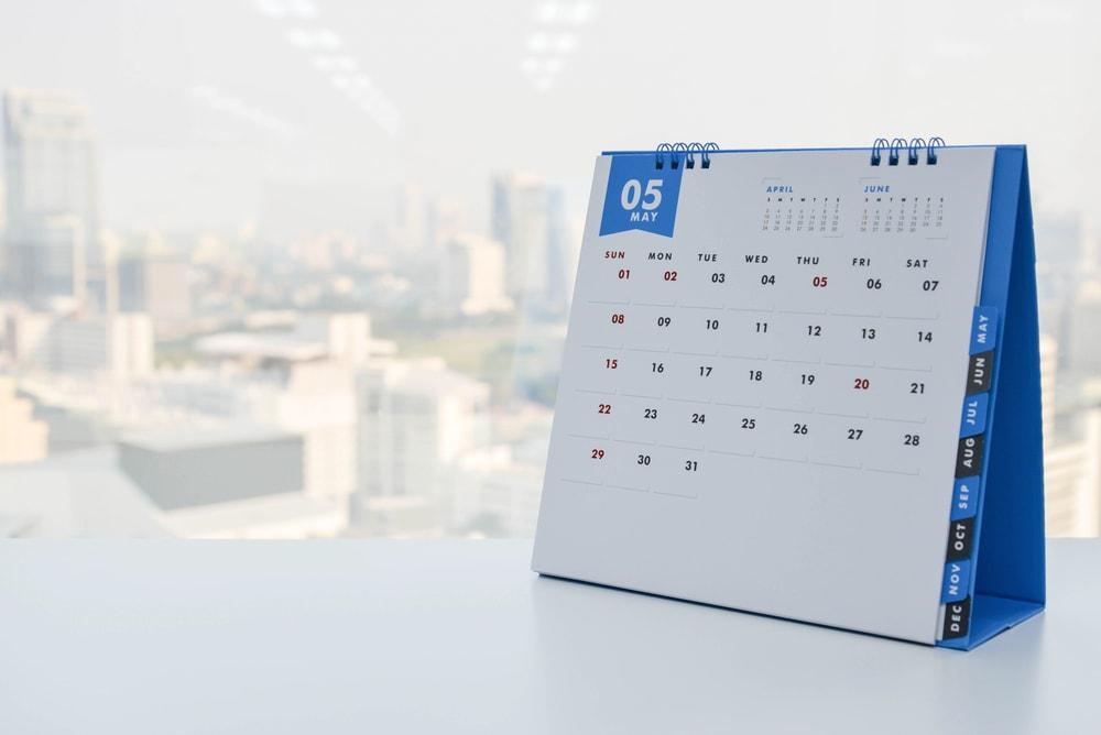 Für Büro und Home-Office: Tischkalender einfach selbst gestalten
