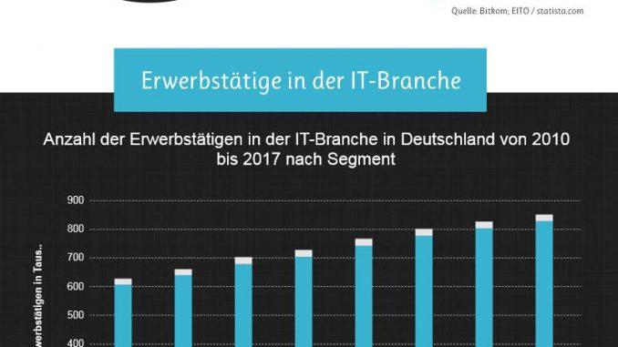 : Infografik zur IT-Branche in Deutschland