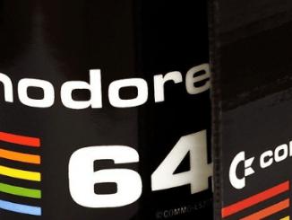 Zurück in die Zukunft - Kaffee-Tasse mit C64-Logo