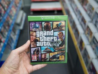 GTA 5 für die XboxOne im Ladengeschäft