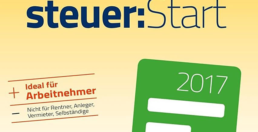 Einkommensteuer-Erklärung 2017 mit WISO steuer:Start 2018