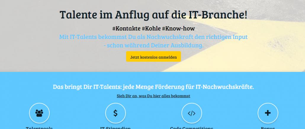 IT-Talents Screenshot