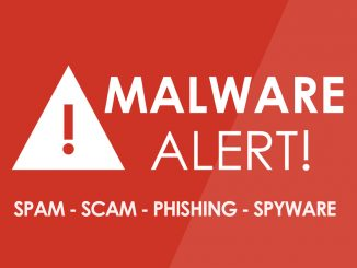 Malware Alert Grafik