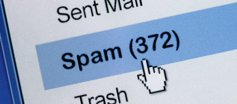 Spam-Emails im Posteingang