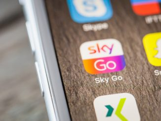 SkyGo App auf dem Smartphone