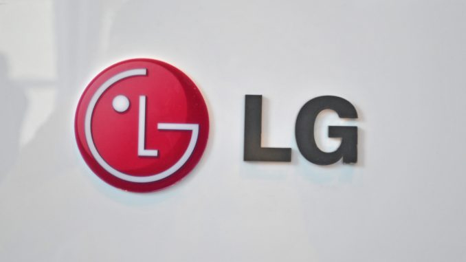 Logo des Smartphone-Herstellers LG