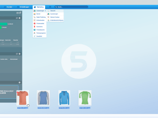 Shopware Screenshot vom Backend