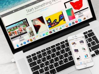 iTunes auf dem Notebook und dem Smartphone