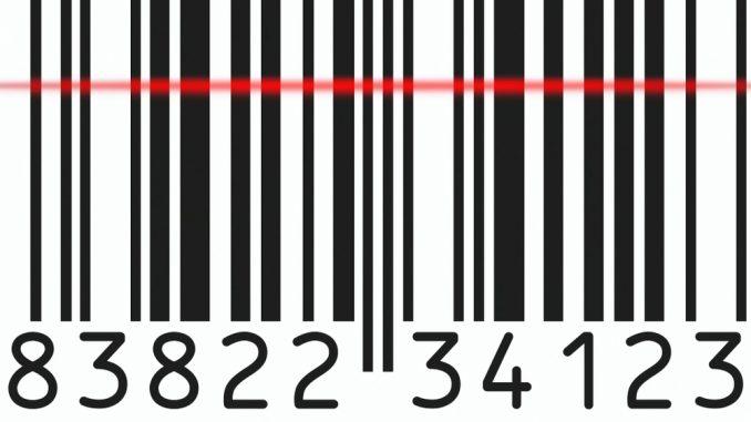 EAN Nummer und Strichcode