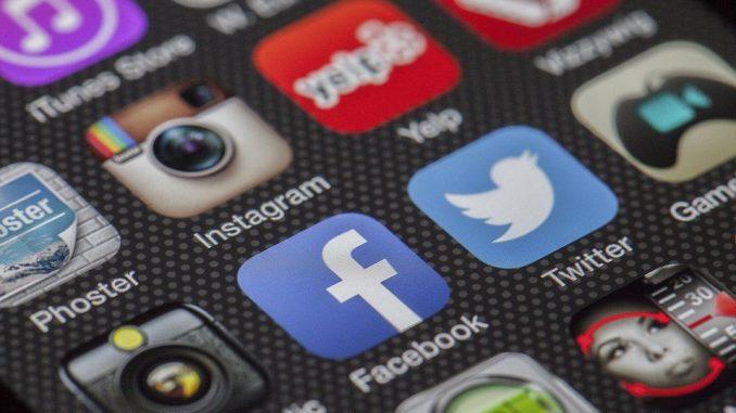 Facebook Icon auf dem Smartphone