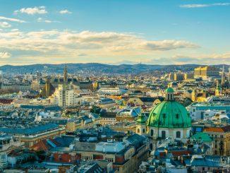 Die Skyline von Wien