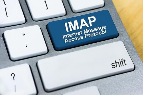 Notebook-Tastatur mit der Bezeichnung IMAP