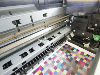 Das Innenleben eines großen Druckers