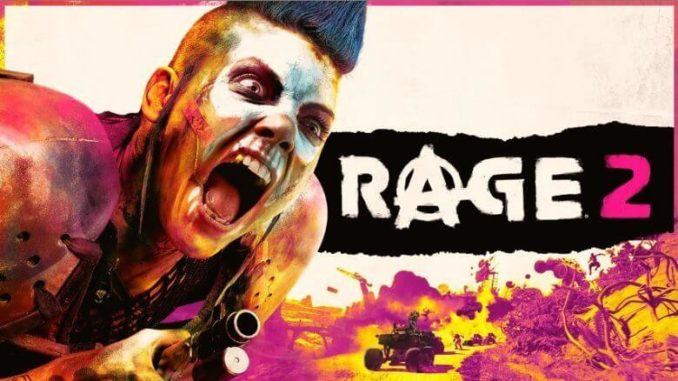 Rage 2 Cover Bild