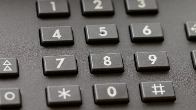 Telefon Tasten Festnetz