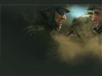 Soldaten aus Videospiel stehen sich gegenüber