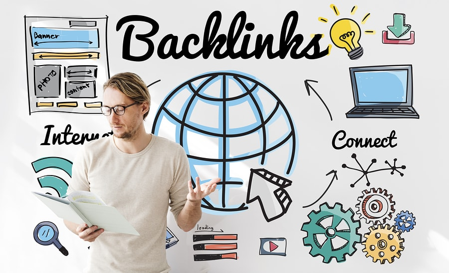 Infografik zum Thema Backlinks