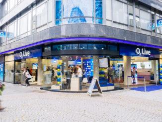 Frontansicht der o2 Filiale in Köln