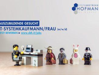 Ausbildung zum IT-Systemkaufmann bei Systembetreuung Hofmann