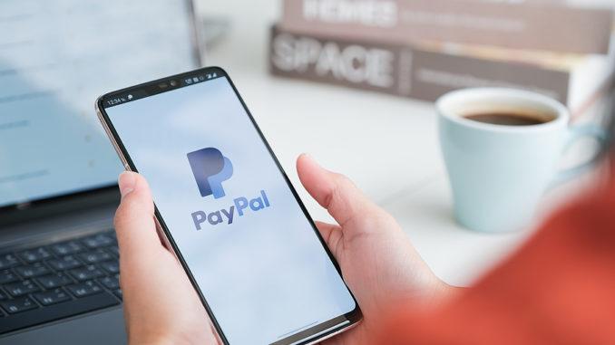 Paypal auf dem Smartphone