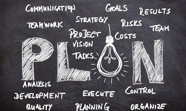 Plan, Strategy und Kennzahlen
