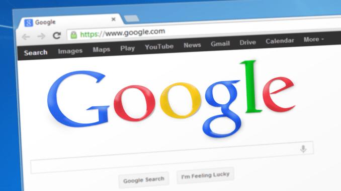 Screenshot des Google Chrome Browsers