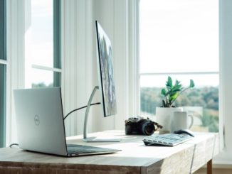 Foto eines Büros im eigenen Zuhause