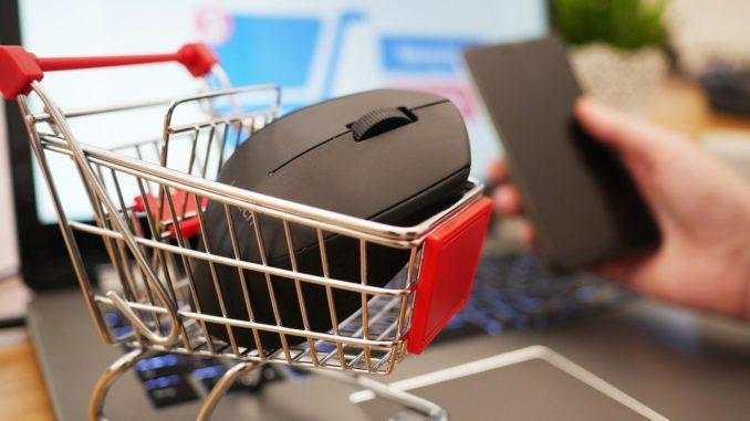 Online Shopping Symbolik Foto